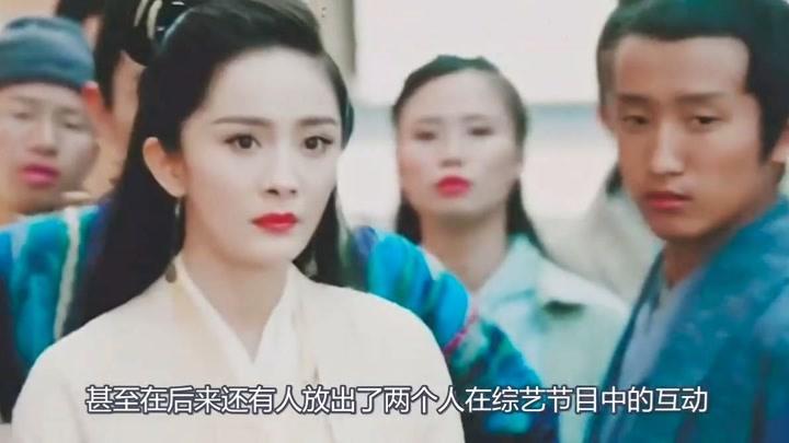 杨幂被魏大勋一把抓住小腿,她的下意识反应,完全暴露二人的关系