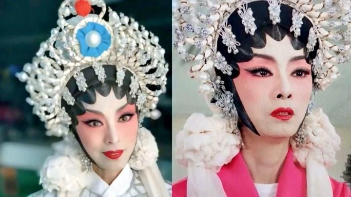米雪曬京劇造型超驚艷 與謝賢再同框宛如吃了防腐劑