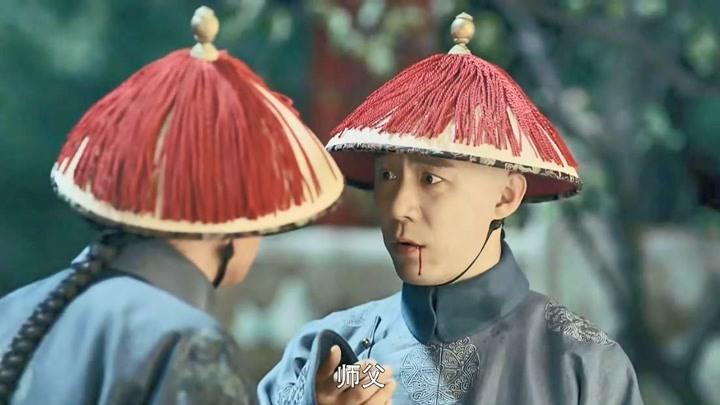 延禧攻略:袁春望被師傅被誣陷,臉都被打出血了,死不認罪!