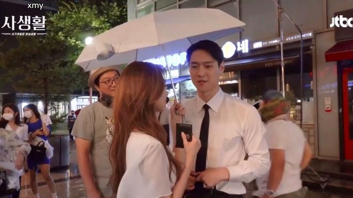 【中字】徐賢&高庚杓韓劇《私生活》 花絮!甜甜甜!