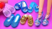 手工制作迷你东西:芭比娃娃的六双精致凉鞋-手工制作大全